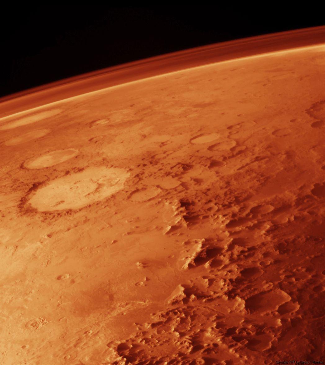 Atmosphère-Mars