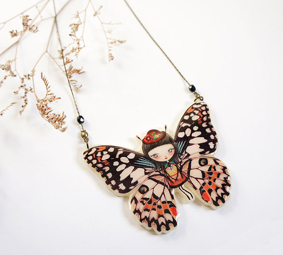 collier-papillon