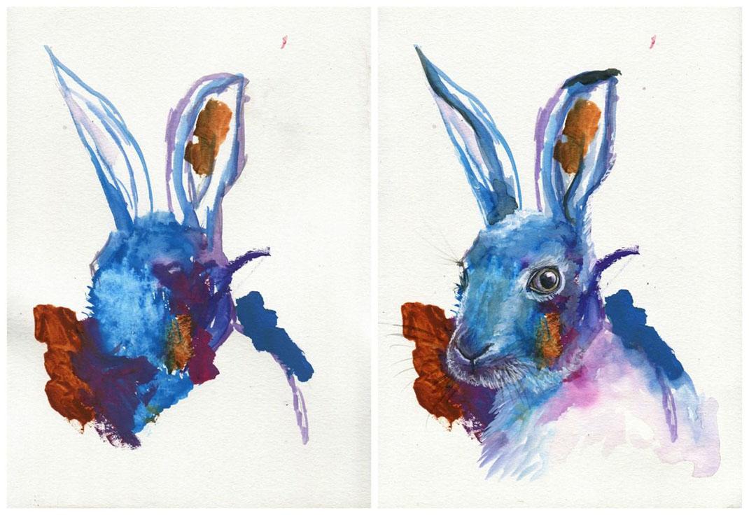 Une superbe complicit cette maman peaufine les dessins for Peinture pour evier en email
