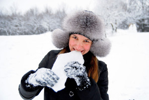 femme-neige