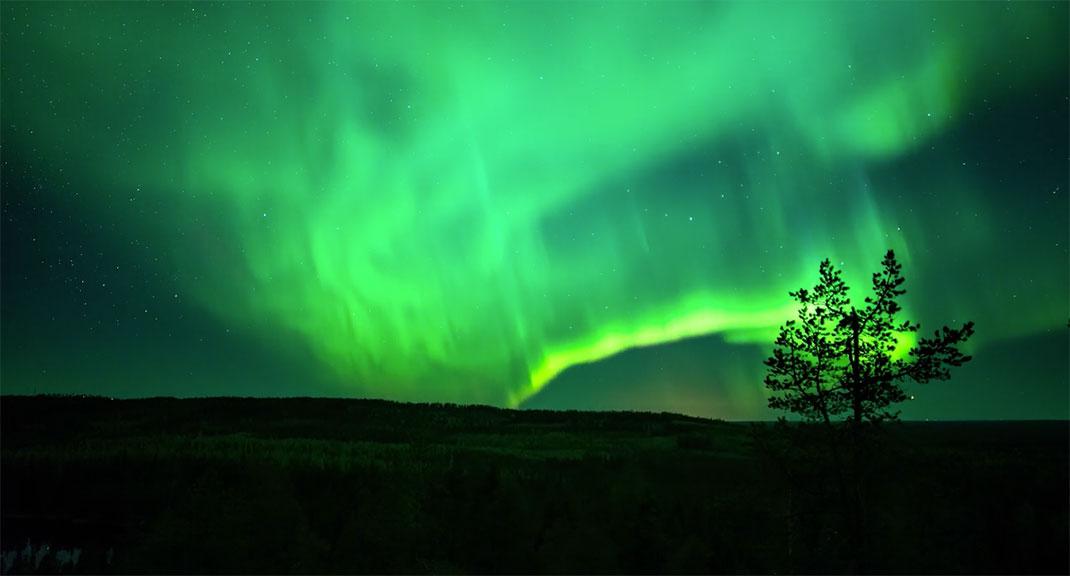 finlande-aurores-vert