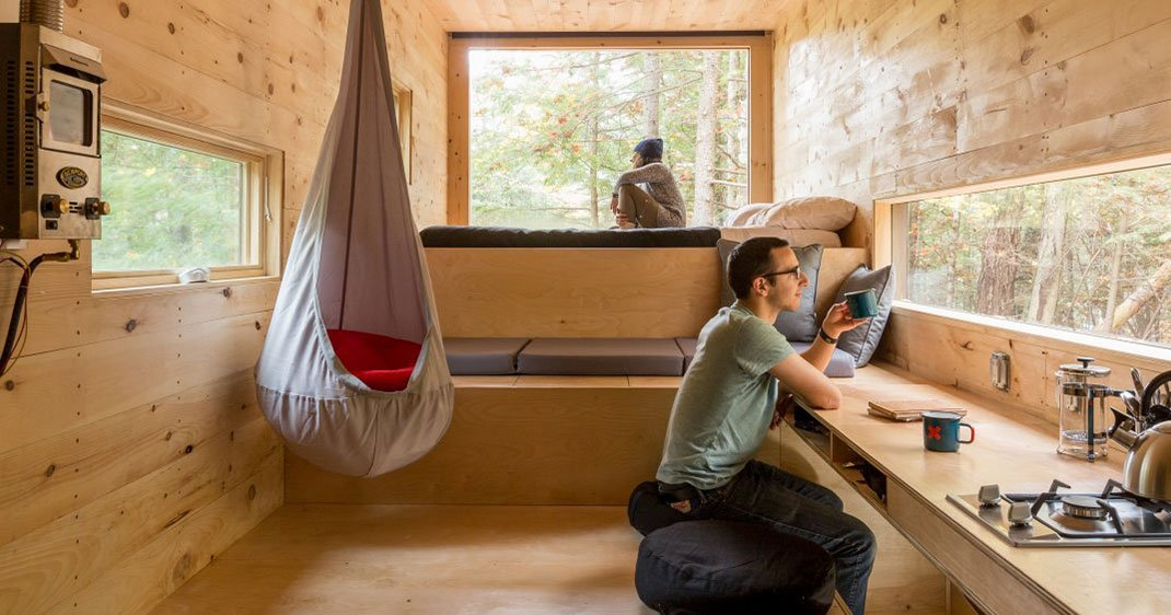 Ces maisons totalement écologiques offrent une expérience unique en plein cœur de la forêt