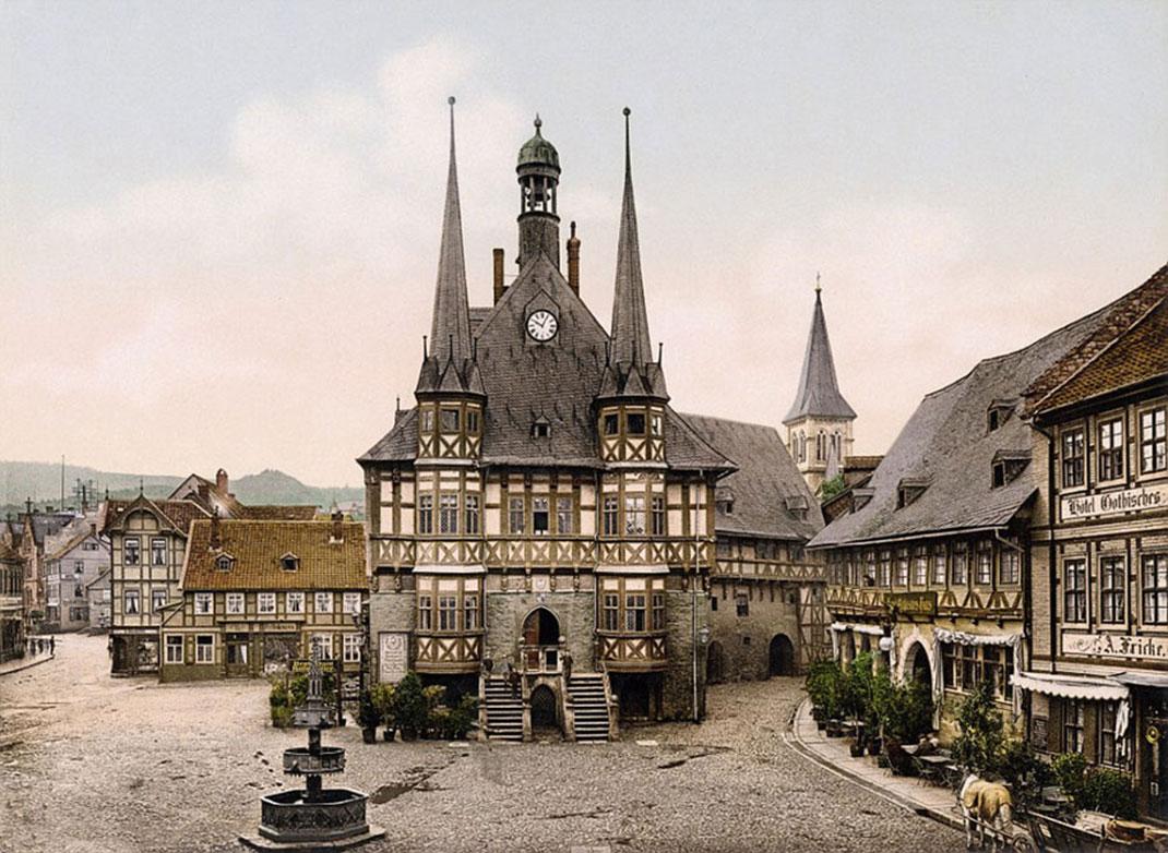 wernerigode-town-hall