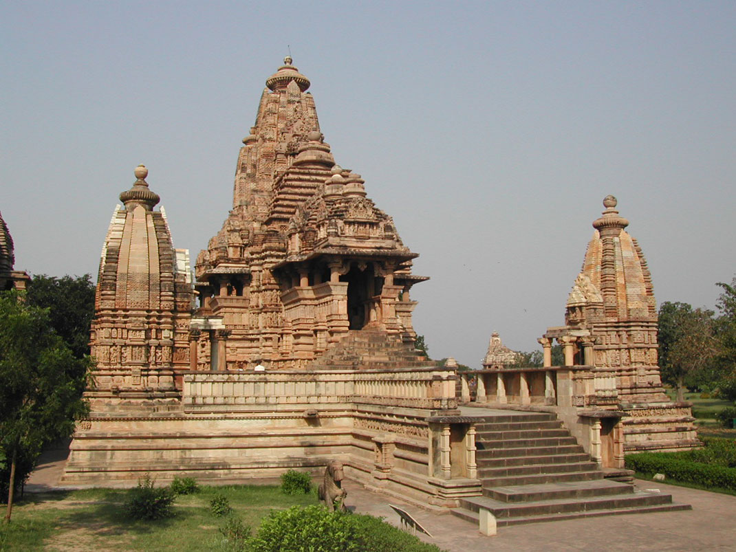 Un temple à Khajuraho