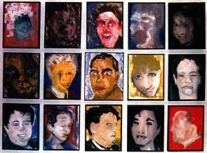 David-Bowie-paintings-DHead-XXVIII..XXV-1995-96