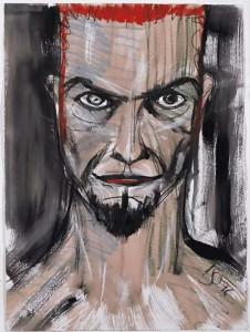 David-Bowie-paintings-selfportrait2-1996