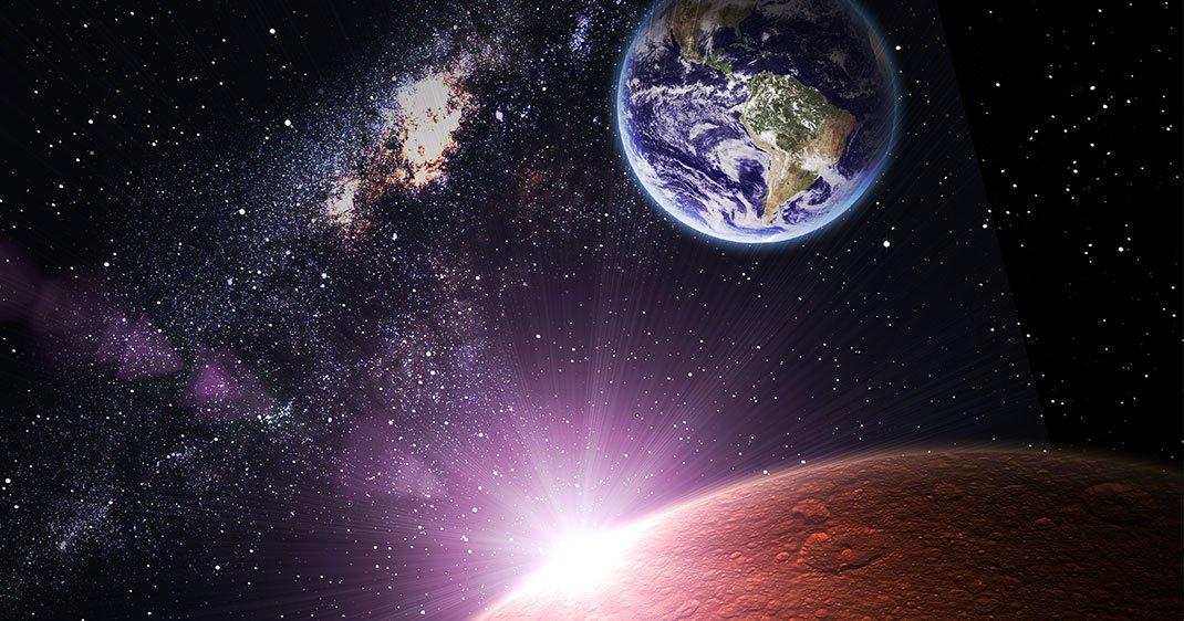 voyage terre mars