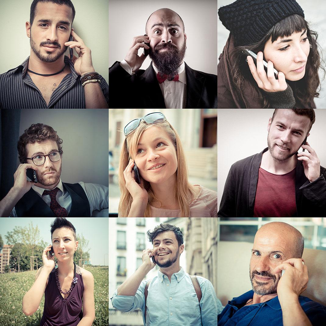personnes-telephones