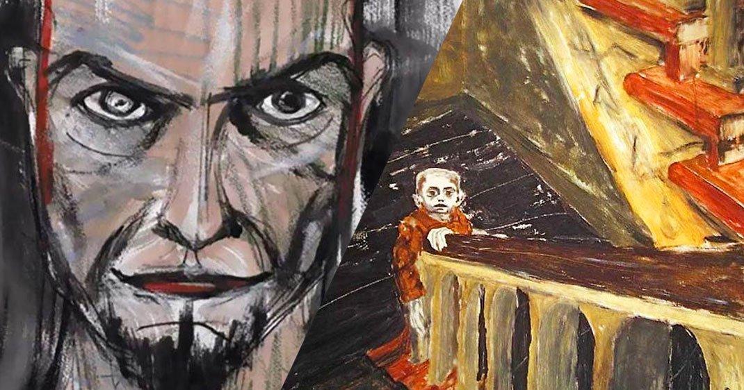 En Plus D Etre Un Chanteur Legendaire David Bowie Etait Egalement Un Peintre Petri De Talent