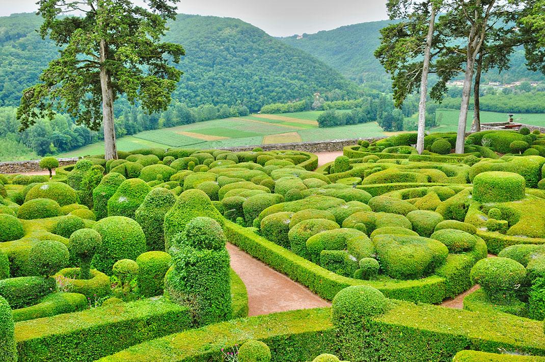 Perdez vous dans les jardins suspendus de marqueyssac ce for Jardin laberinto
