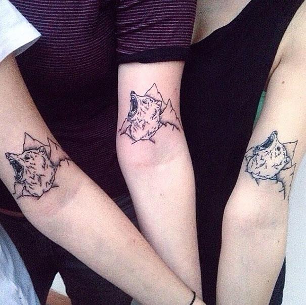 Tatouage en commun frere et soeur - Tatouage de soeur ...