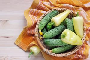 concombre-poivrons