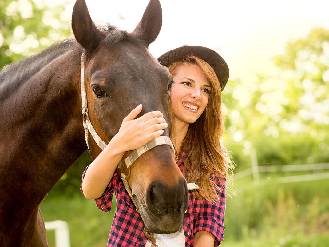 cheval-femme