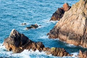 Cliffs on the island via Shutterstock