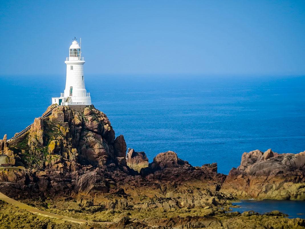 L'île de Jersey via Shutterstock