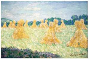 Jeunes-femmes-de-Giverny,-effets-de-soleil
