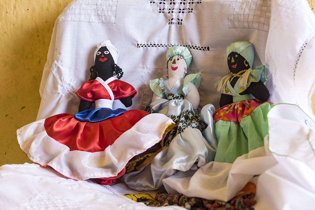 Des objets de cultes de la Santeria via Shutterstock