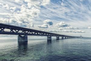 Frontière entre le Danemark et la Suède via Shutterstock