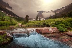 Glacier dans le Montana via Shutterstock