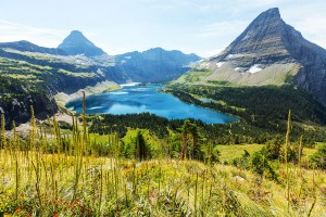 Glacier National Park, Montana via Shutterstock