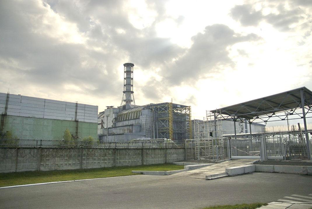 La centrale de Tchernobyl