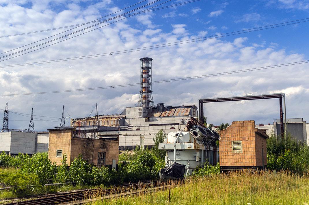 La centrale de Tchernobyl via Shutterstock