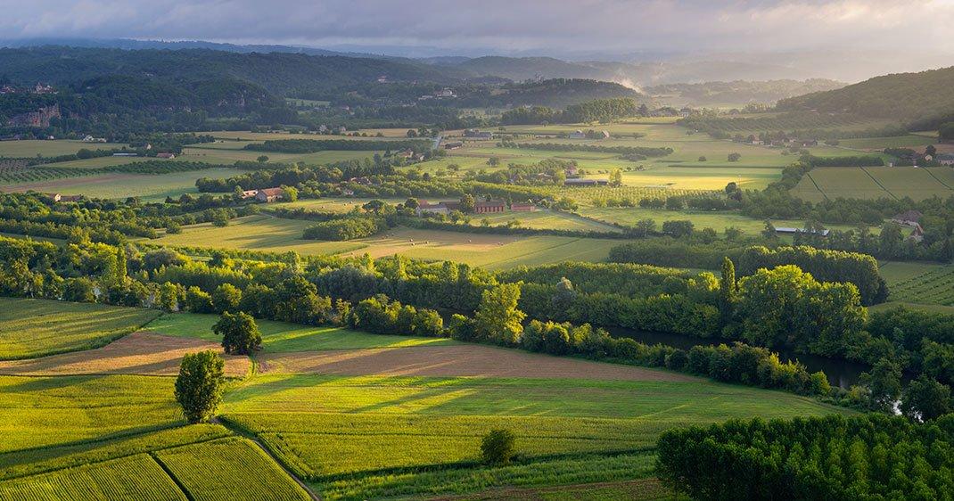 Sillonnez la vall e de la dordogne ce paysage naturel for Paysage francais
