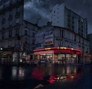 Le Métro, rue des Pyrénées, Paris XX