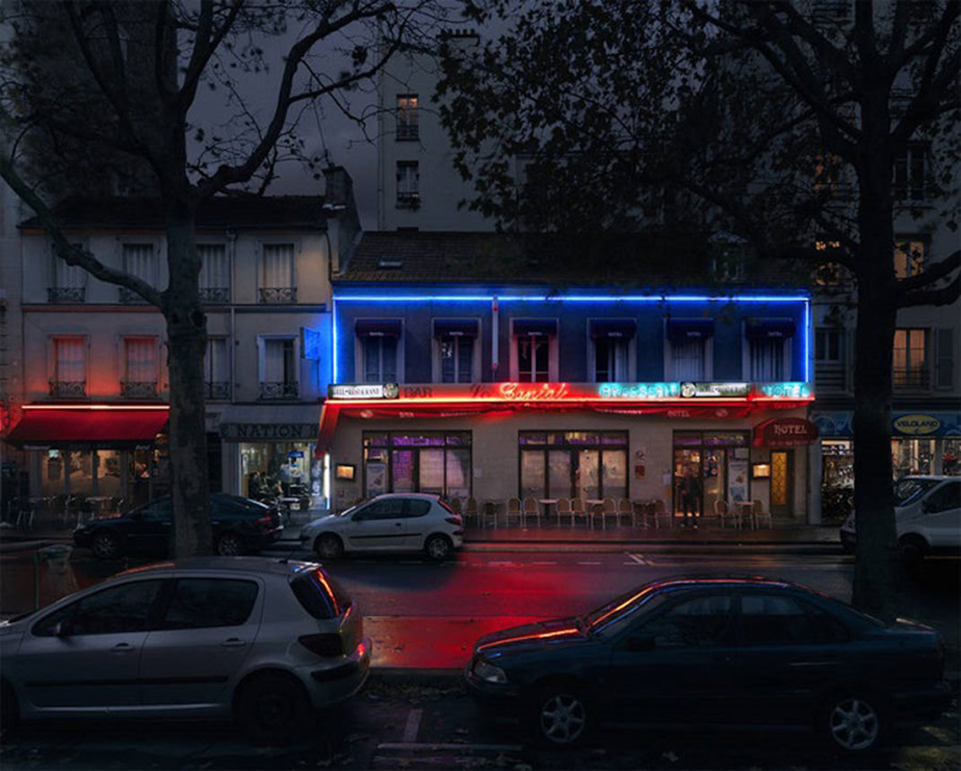 Le Cantal, boulevard de Charonne, Paris XX