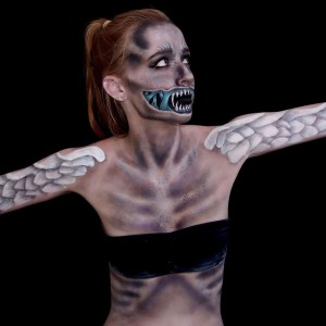 fille-maquillage-monstre-5