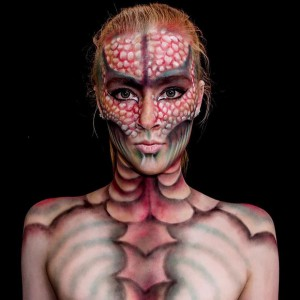 fille-maquillage-monstre-7