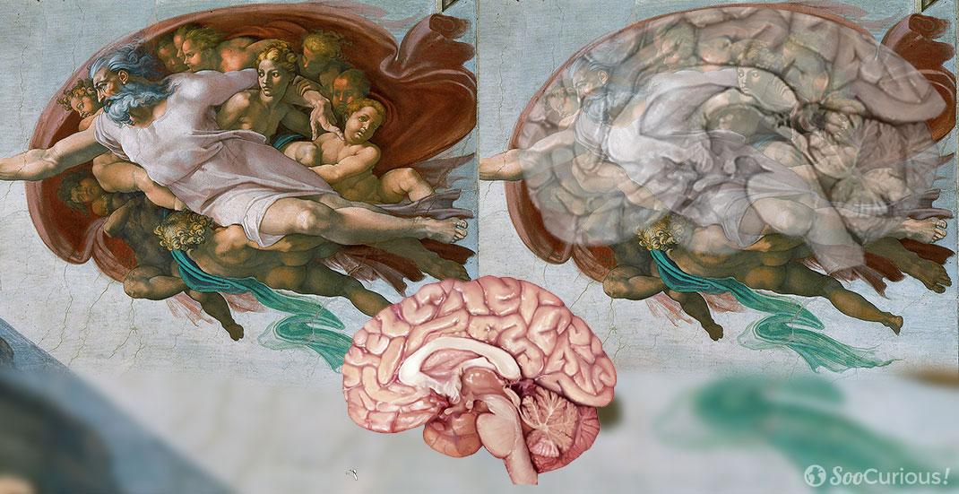 13 anecdotes insolites sur les plus grands artistes et - Fresque du plafond de la chapelle sixtine ...