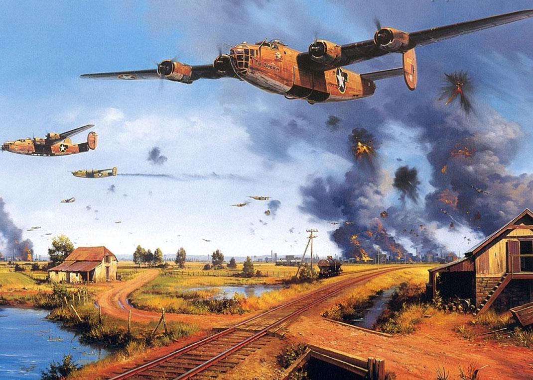 peintures-seconde-guerre-mondiale-24 | Daily Geek Show
