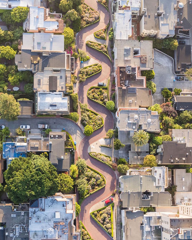 Lombard Street de Toby Harriman, San Francisco, Etats-Unis