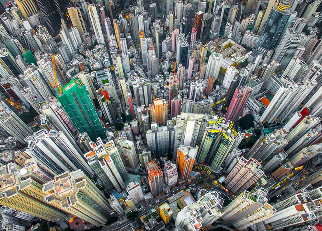 Jungle urbain de Andy Yeung, Hong Kong