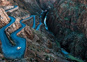 Routes sinueuses de Angiolo Manetti, Maroc