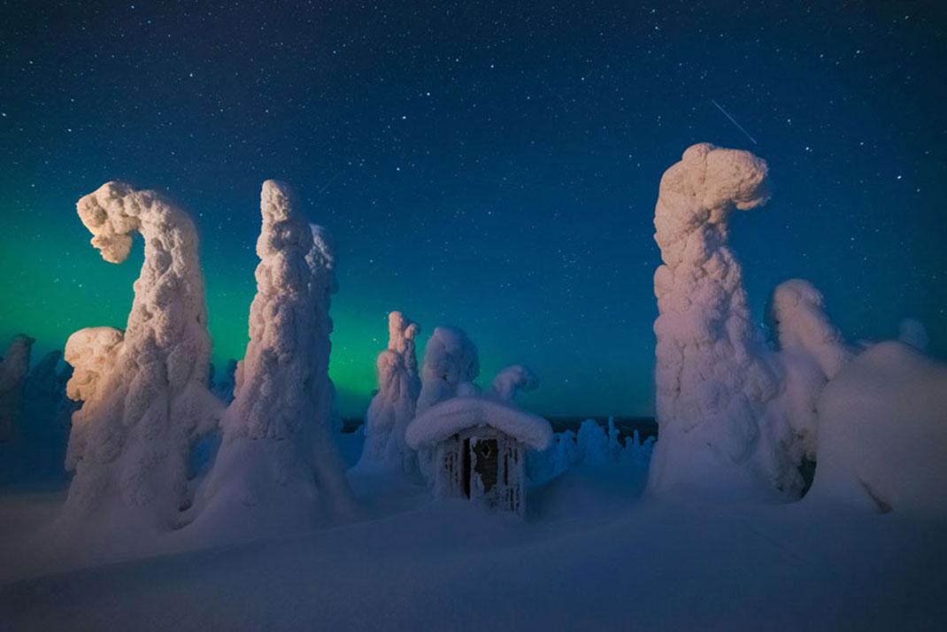 Abri mystique de Pierre Destribats, Finlande