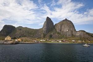 L'île de Træna en Norvège via Shutterstock