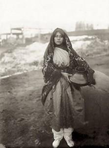 Une jeune fille de Taos Pueblo (1880-1890)