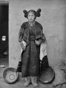 Une fille Hopi en 1895
