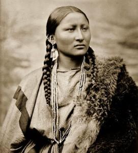 Pretty Nose de Cheyenne photographiée par L. A. Huffman en 1878