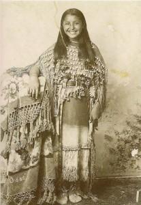O-o-be, des Kiowas en 1894