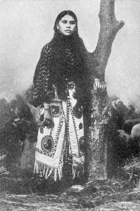 Quanah Parker (Nocona), une fille Comanche (1848-1911)