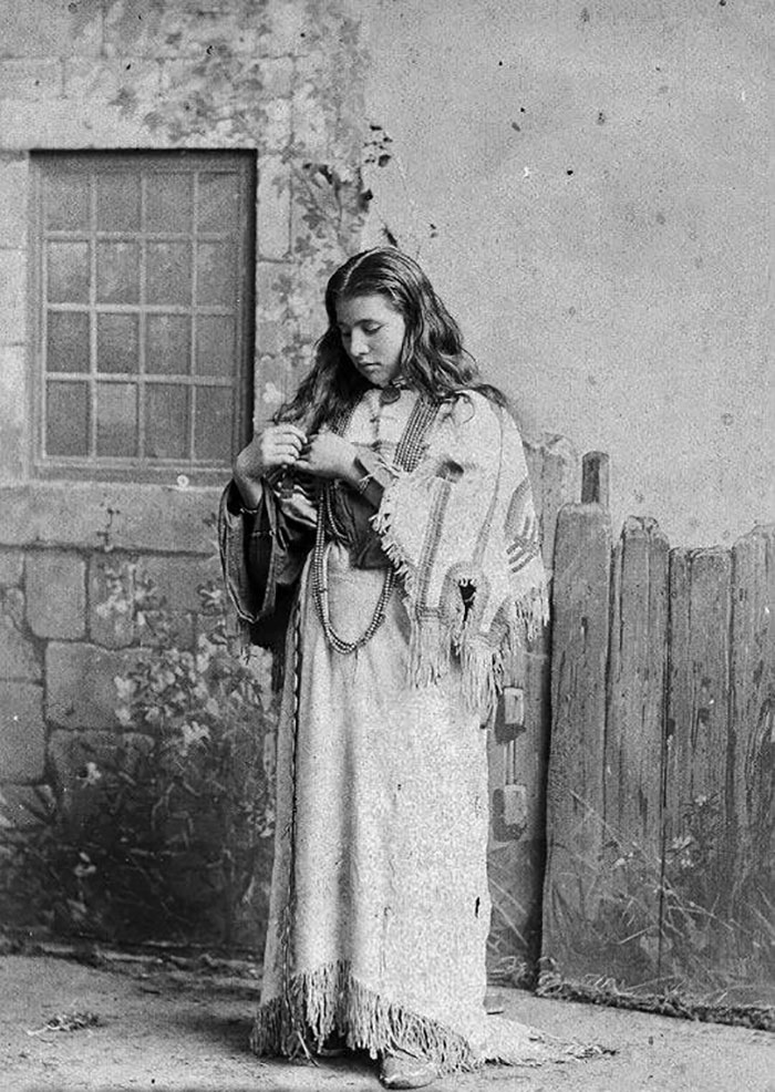 Julie Nelson en 1886