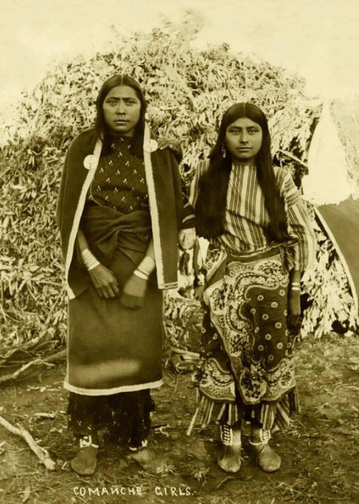 Les filles Comanche (1880-1889)