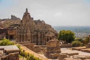 Le fort de Chittorgarh en Inde via Shutterstock