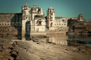 Le palais de Padmini en Inde via Shutterstock