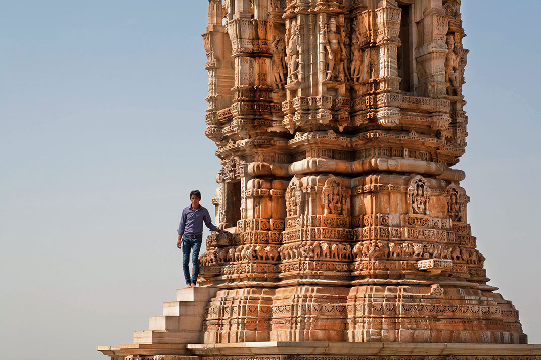 La tour Kitri au fort de chittorgarh via Shutterstock