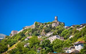 Gjiroskastër en Albanie via Shutterstock