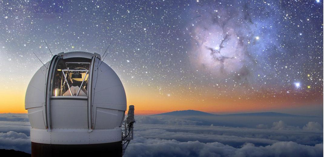 Le télescope Pan-STARRS d'Hawaï